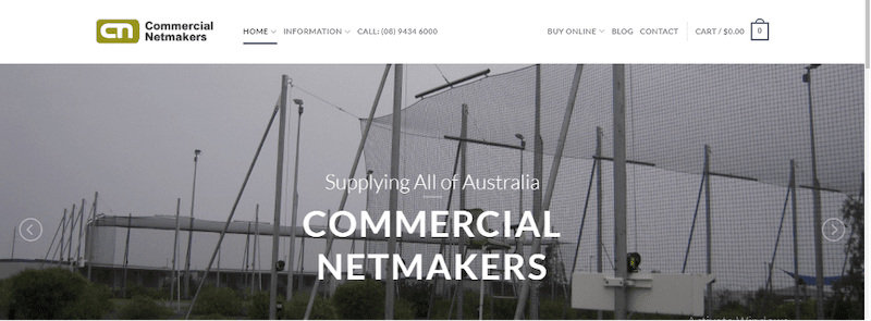 commercial net makers